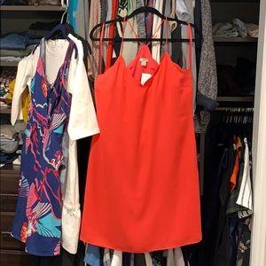 Jcrew factory scallop dress - Sz 6
